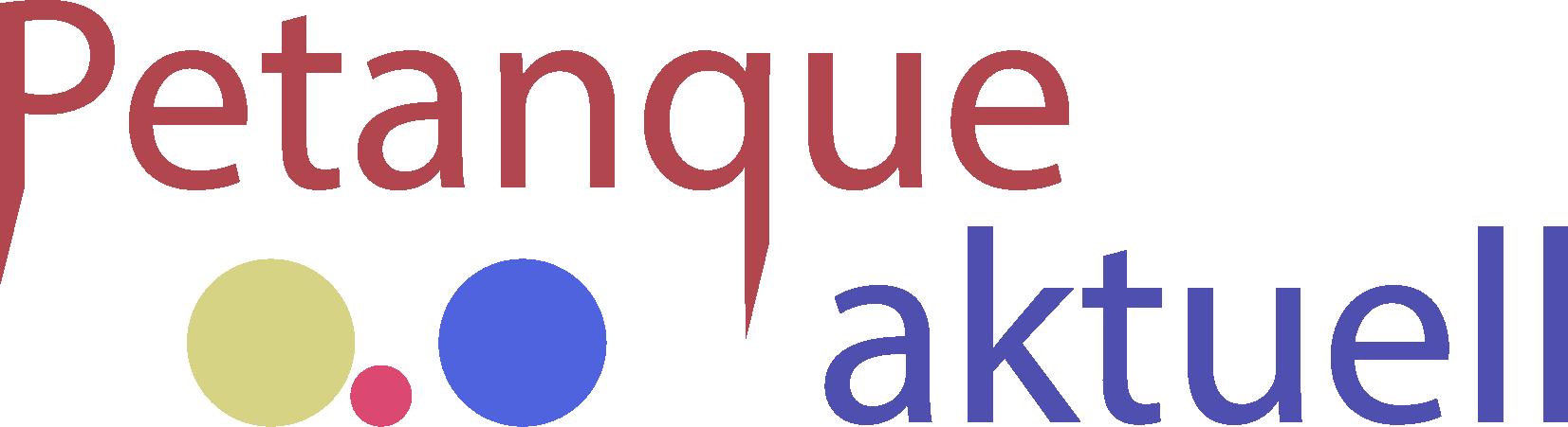 Petanque aktuell Logo