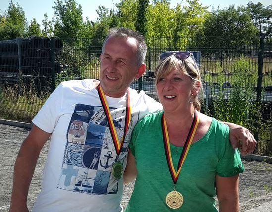 Jens und Diana LM Mixte Ost