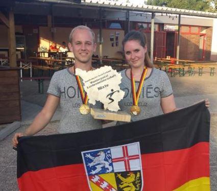 Manu und Celine LM Mixte Saarland