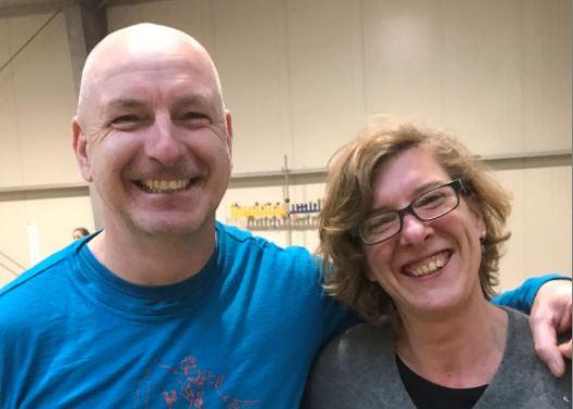 Jörg und Corinna