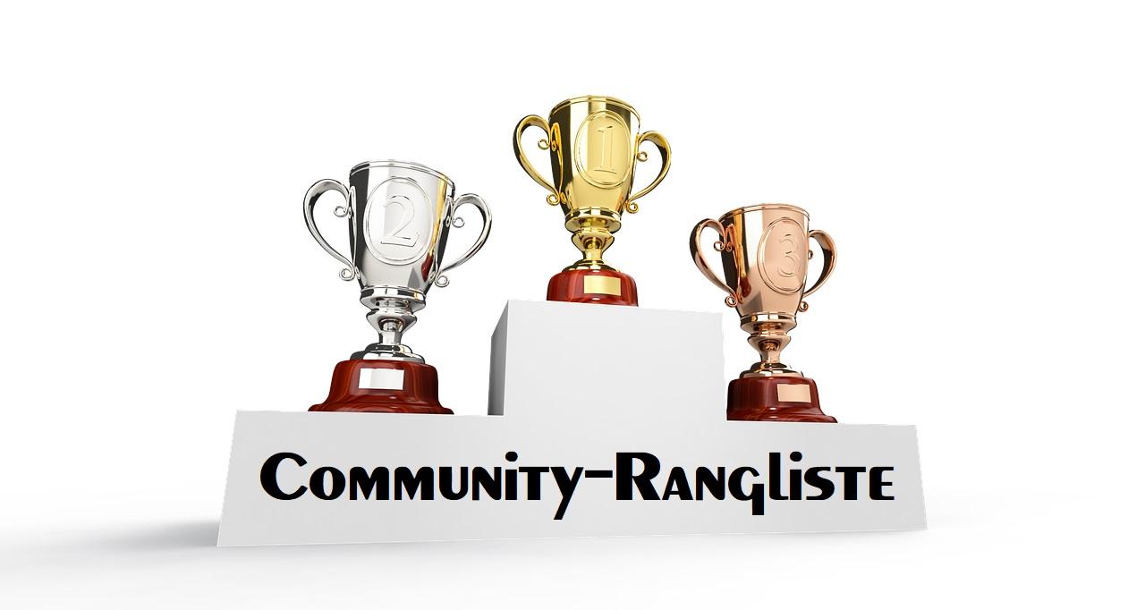 Podium-Community-Rangliste