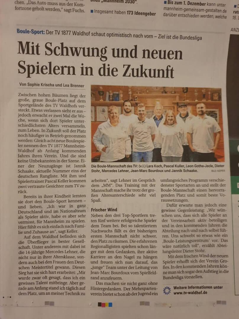Mannheim Morgen TV Waldhof