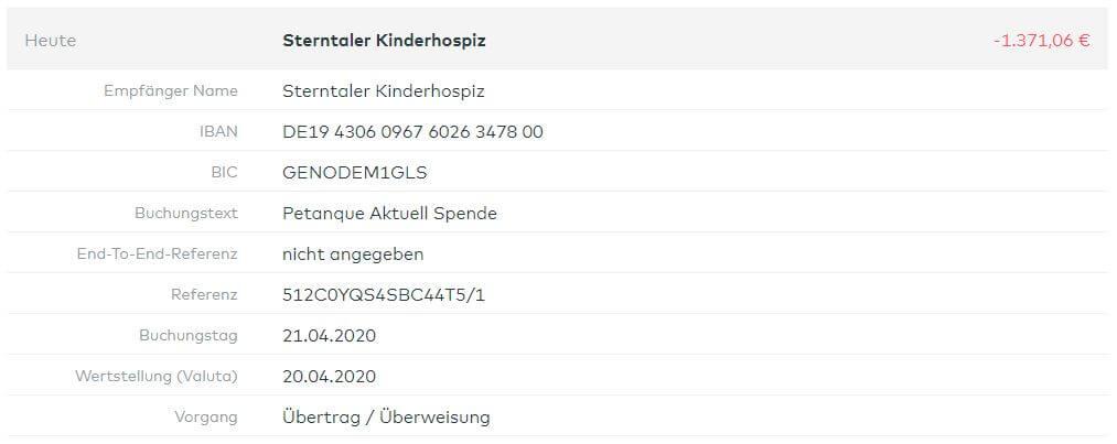 Überweisung Kinderhospiz Dudenhofen