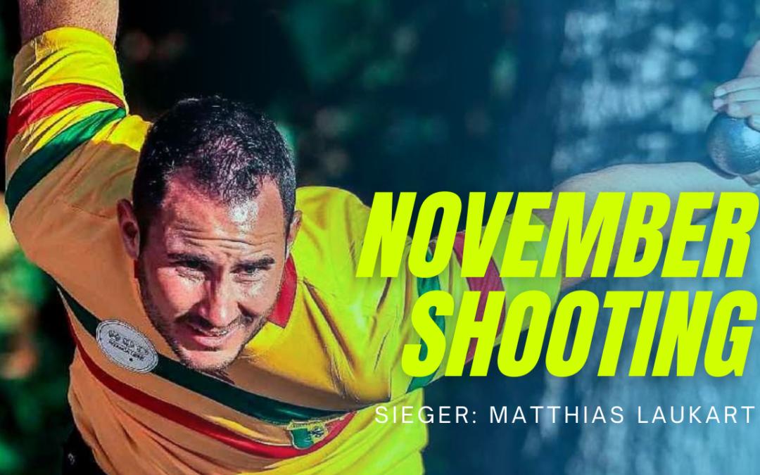 Laukart gewinnt November-Shooting