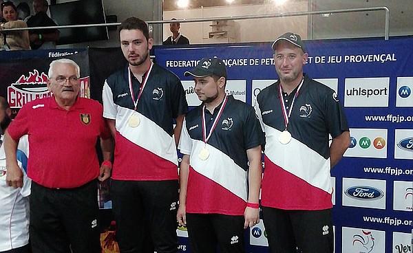 Französische Triplette Meister kommen erneut aus Ariège